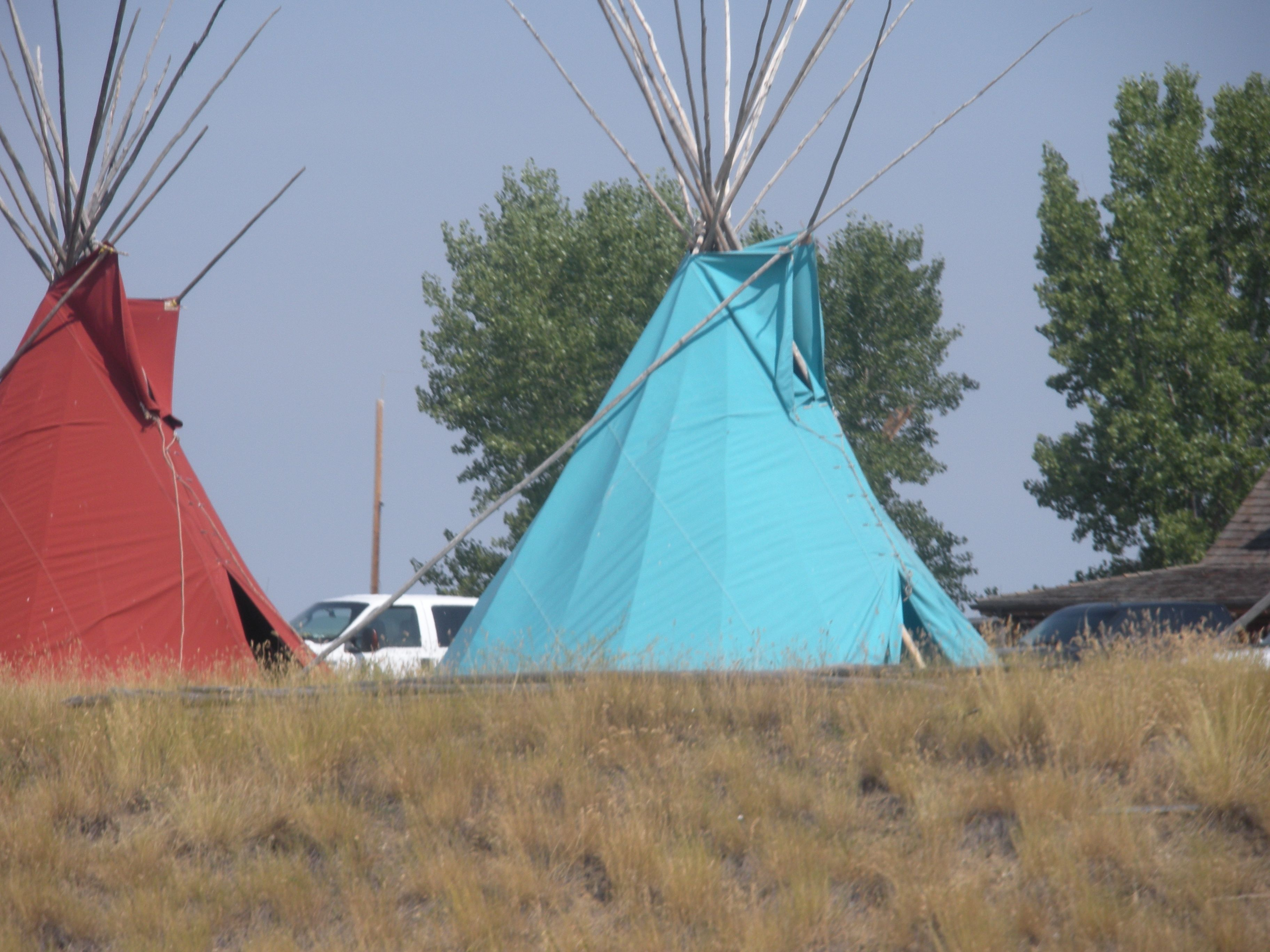 Crow Indian Reservation in South Dakota