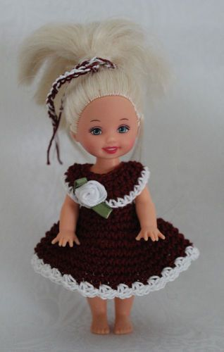 """KELLY Clothes Outfit for 4.5"""" Kelly Doll - #675"""