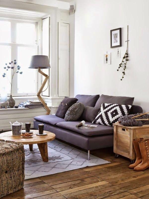 Épinglé Par Petite Pepa Sur Design Pinterest - Canapé convertible scandinave pour noël decoration meuble salon