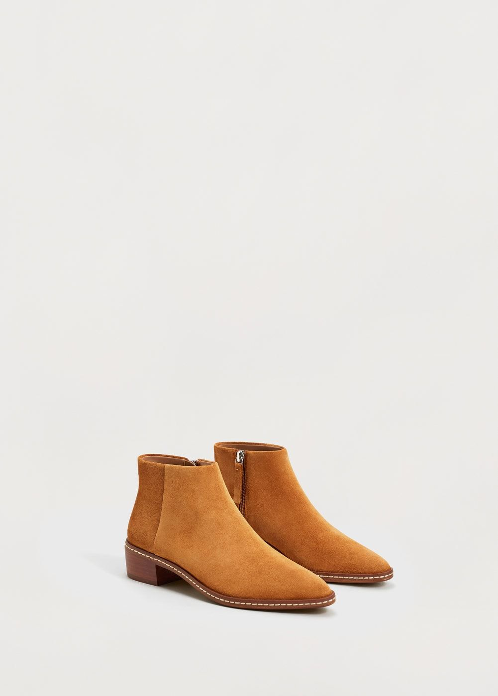 Suede Ankle Boots Plus Sizes Shoes For The Soul Pinterest Flat Boot 2cm F Foleather Women Mango Usa
