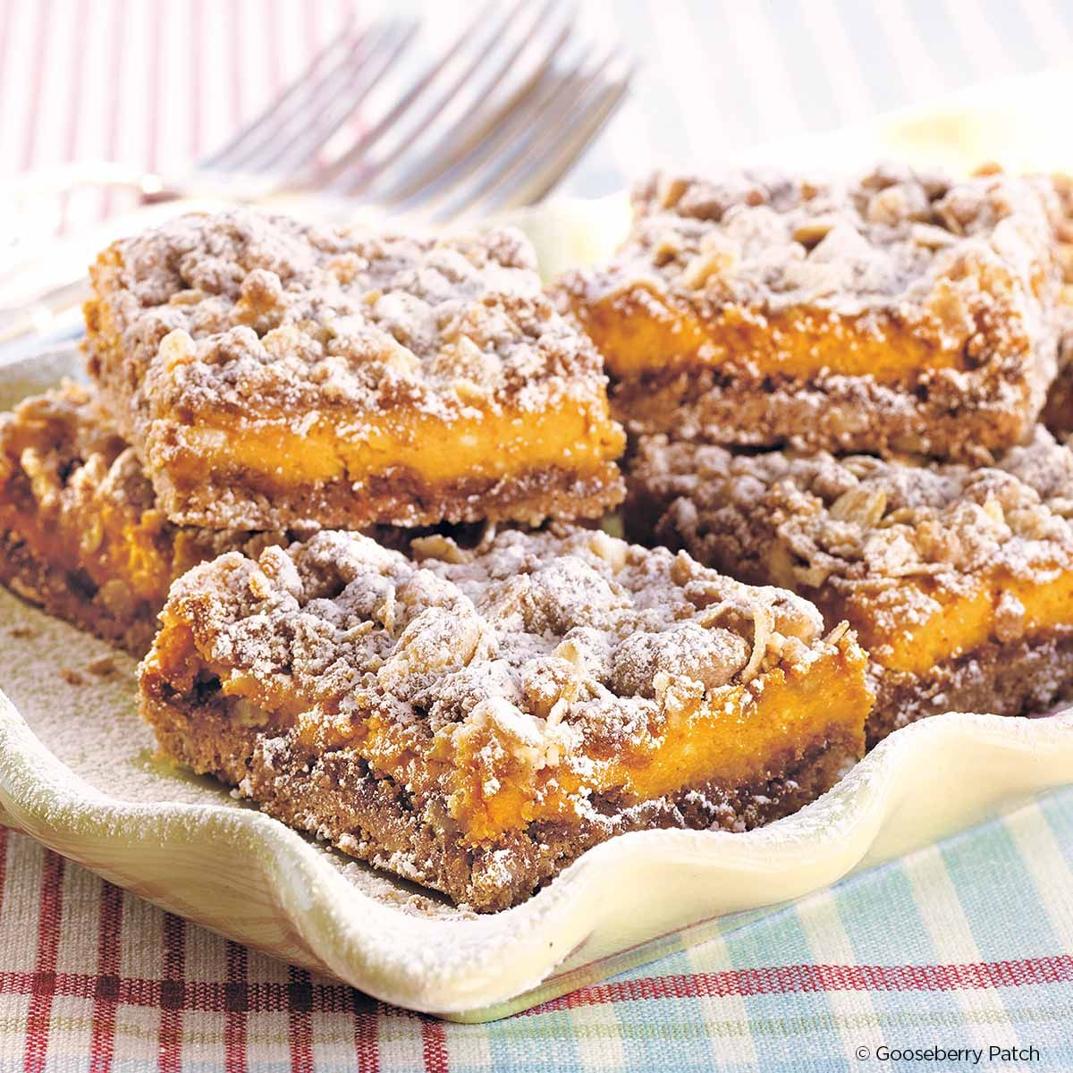 Gooseberry Patch Recipes: Pumpkin Spice Bars From Best