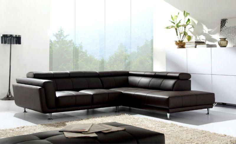 European style living room leader sofa furniture L shape leather ...