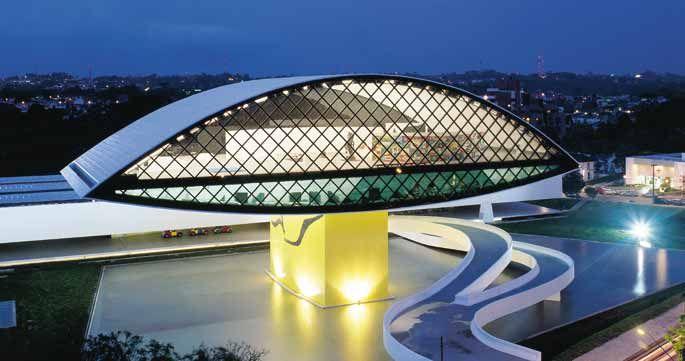 Museu Oscar Niemeyer by Oscar Niemeyer