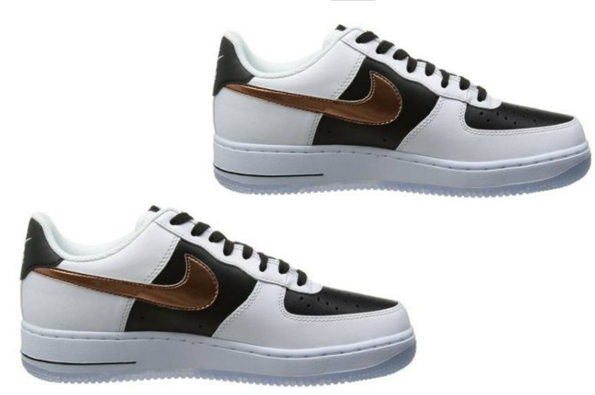 nike air force 1 white copper black