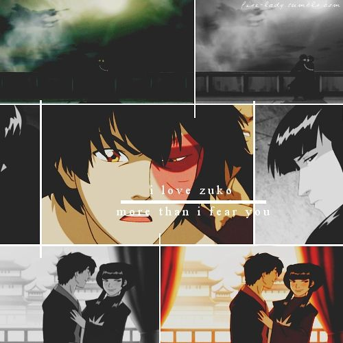 Avatar The Promise: Zuko And Mai From Avatar The Last Airbender...... *sigh