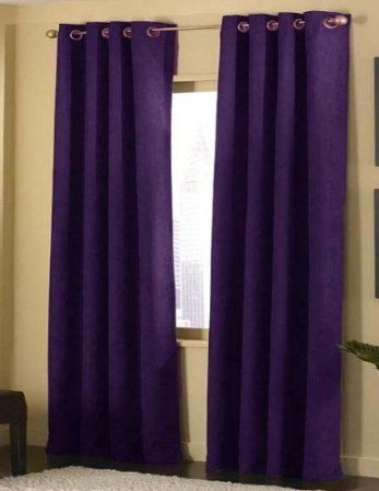 Dining Room To Match Chairs   Cameron Luxe Microsuede Grommet Curtain Panel