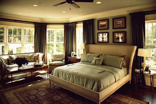 15 wunderschöne grüne Schlafzimmer-Designs, die so ...
