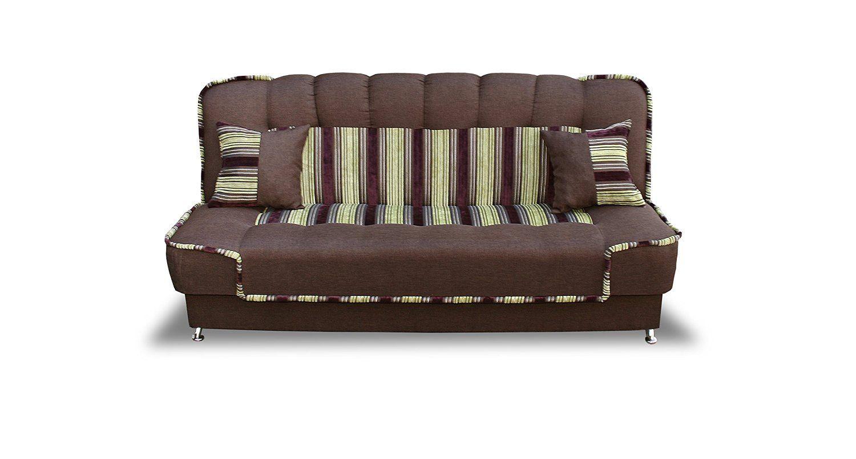 Amazonde EUGEN 3 Sitzer 3er Sofa Couch Mit Schlaffunktion Elegant