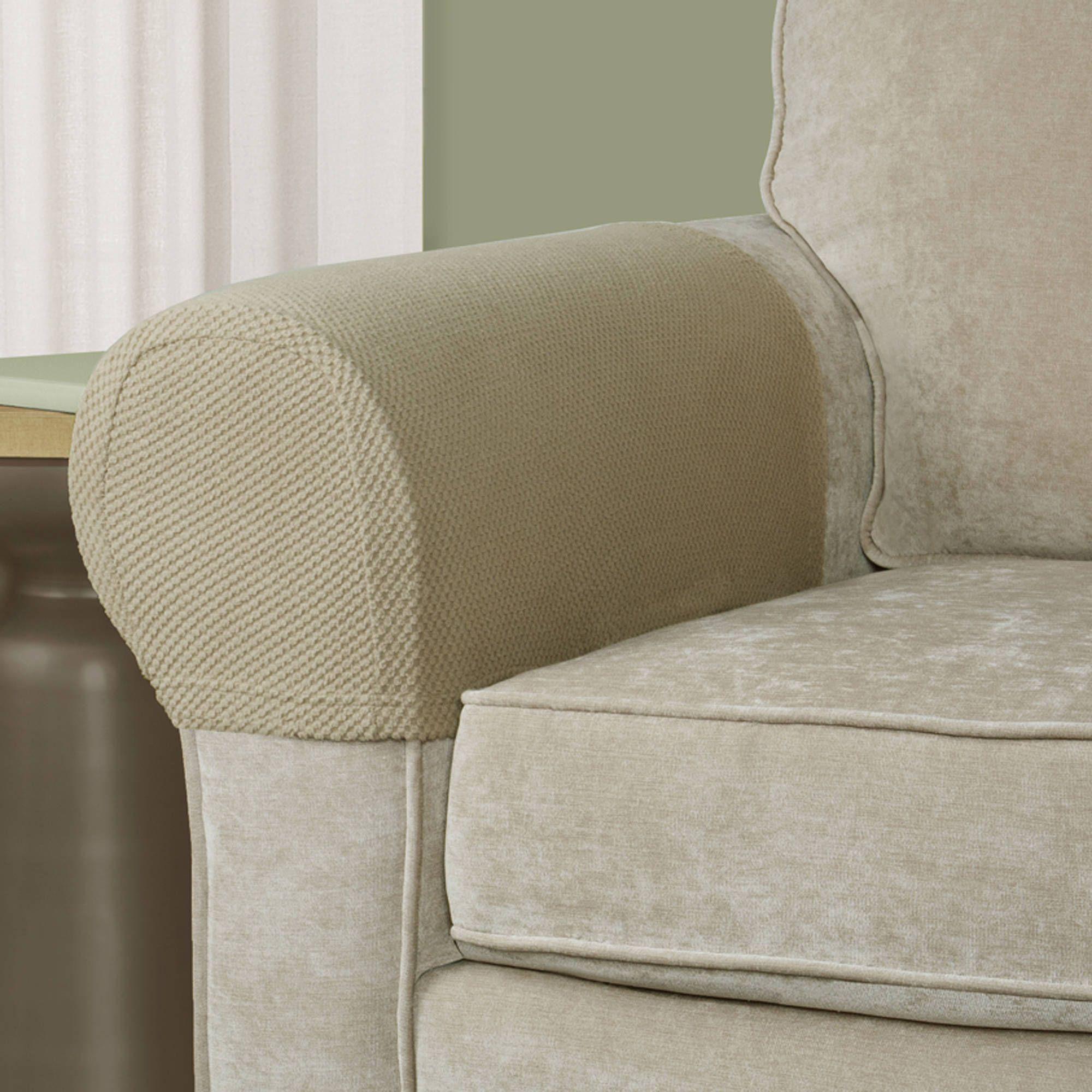Classic Slip Covers Stripe Navy Cotton Twill e Piece