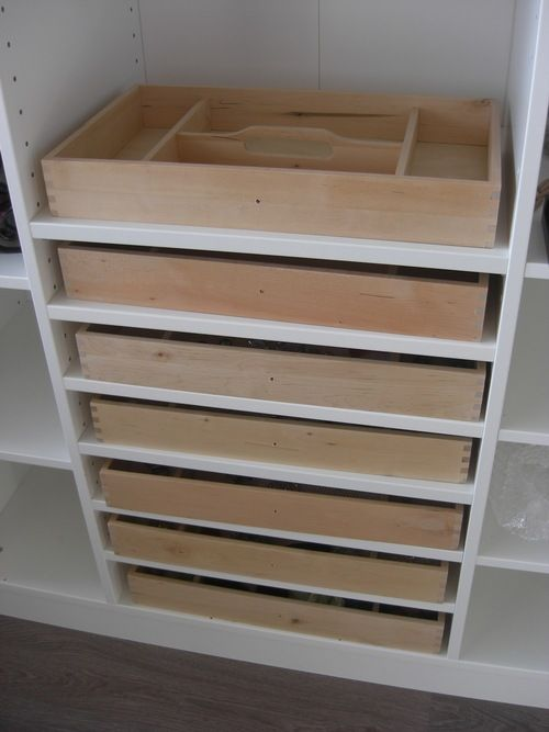 Delicieux DIY Jewelry Storage Idea Using IKEA Cutlery Trays. With These Solutions,  Youu0027re Going To Need More To Organize, So Head To TreborStyle.com