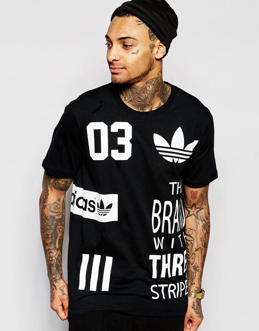 1364a43d8dc2 Image 1 of adidas Originals Logos T-Shirt AO0539