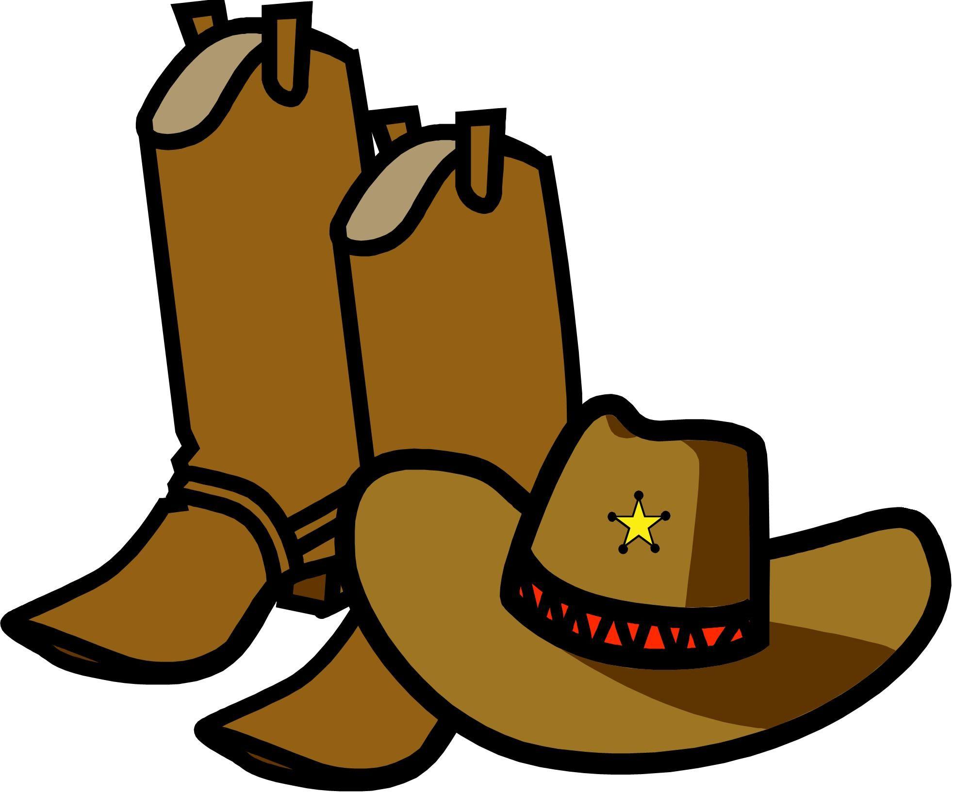 Cowboy Clip Art - ClipartAndScrap