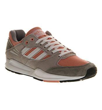 Adidas Tech Super Grey Pink White W - Unisex Sports  e343ecea8