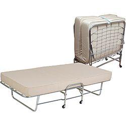 Folding Rollaway Bed With 6 Inch Foam Mattress