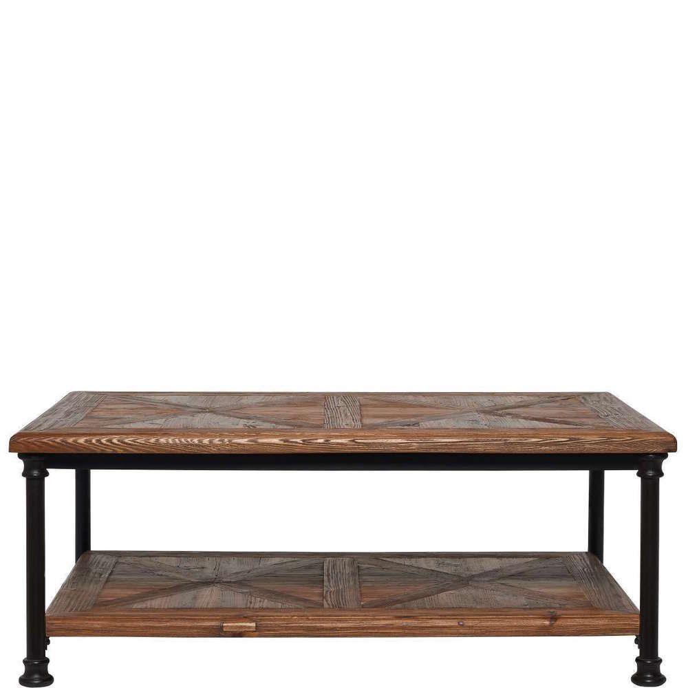 BUTLERS RACKTIME Couchtisch Wohnzimmertisch Tisch Tischmöbel Möbel Braun