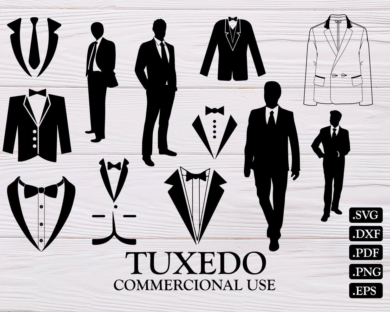 Tuxedo Svg Wedding Svg Bow Tie Svg Tuxedo Tux Svg Tuxedo Clipart Tie Svg Gentleman Svg Bow Svg Suit Svg Tuxedo V Star Silhouette Star Clipart Usa Map