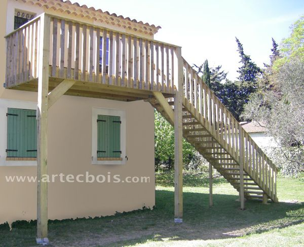 r sultat de recherche d 39 images pour faire un escalier ext rieur pour rejoindre balcon. Black Bedroom Furniture Sets. Home Design Ideas
