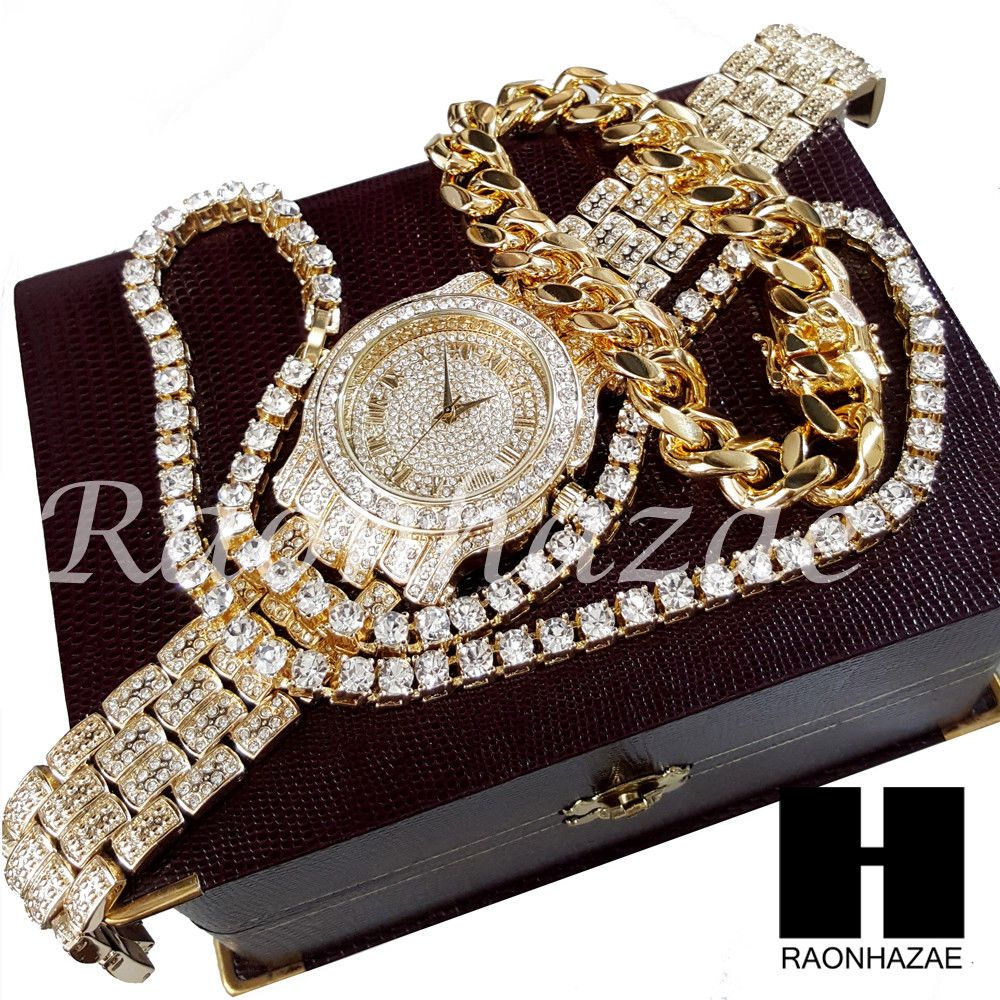 chains link icekingz micro chain gold cuban collections