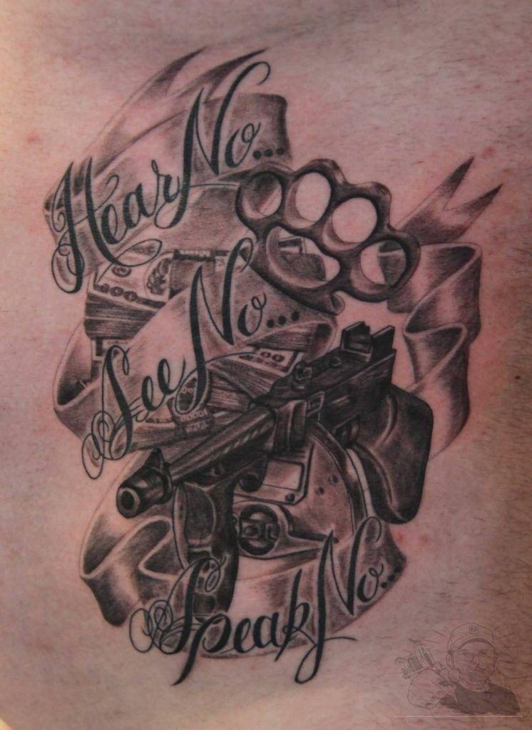 21242c5afbfea Gangster Tattoos   fashion   Gangster tattoos, Gangsta tattoos ...