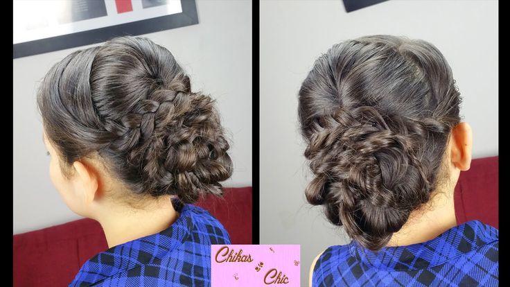 Elegant Braided Updo | Elegant Hairstyles | Prom Hairstyles - YouTube - -