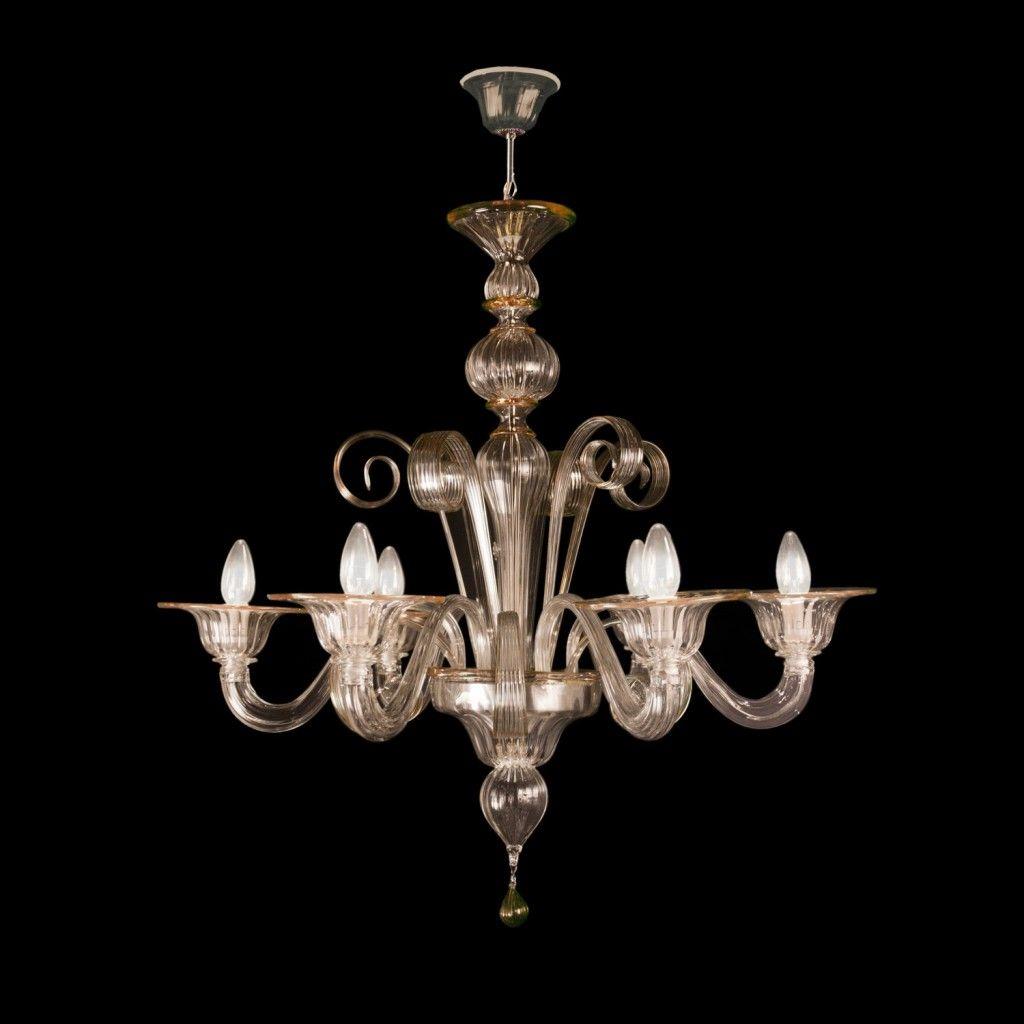 Armonia lampadario in vetro di murano (12 luci, autentico lampadario veneziano lavorato secondo la. Mercurio Sogni Di Cristallo Murano Glass Chandelier Chandelier Chandelier For Sale
