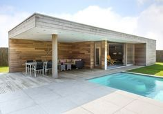 Modern tuinhuis met overdekt terras google zoeken tuin