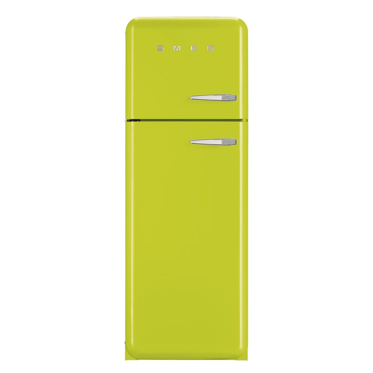 Smeg FAB30LFL 50\'s Retro Style Lime Green Fridge Freezer | Retro ...