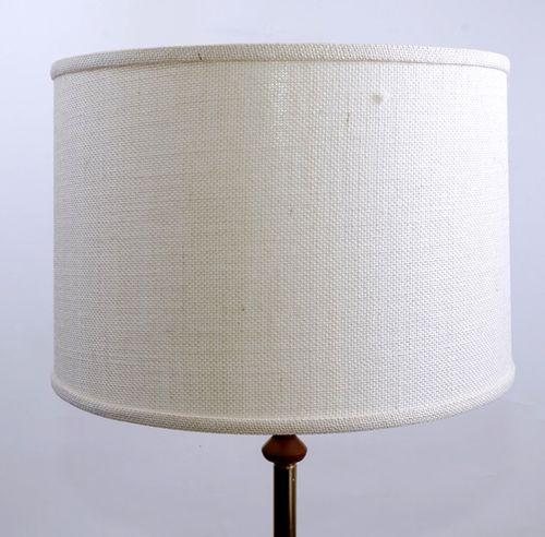 White Burlap Round Lampshades 17 X 18 X 12 25 Jack Of