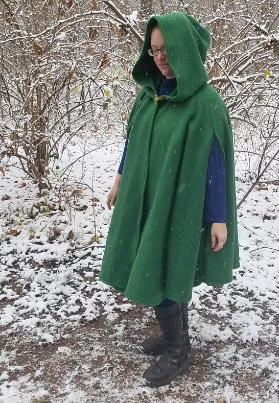 38ad12d719 Bringing back the cloak for everyday wear! A shorter cloak makes a great