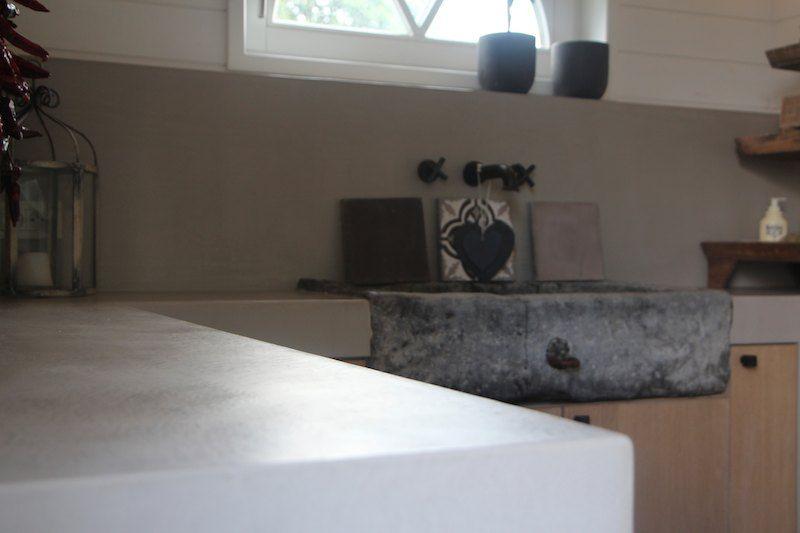 Keuken nieuwbouw - Texture Painting - Alle Microtopping toepassingen en schilderwerken van een hoogwaardige kwaliteit