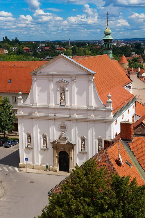 Baroque Facade Of The Jesuit Crkva Sv Katarine Church St Catherine Gradec St Zagreb Croatia By Paul E Williams Zagreb Croatia Zagreb Croatia