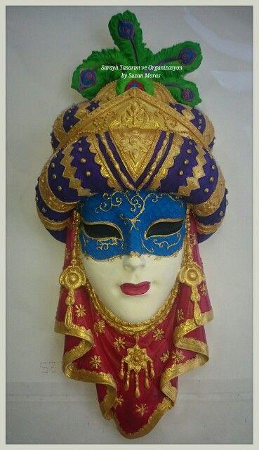 Maske Boyama Elboyama Mask Heykel Maskeler Maskara