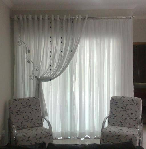 Venda de Persianas - Portfólio Recente Art Decorar - Cortina para - ideas de cortinas para sala