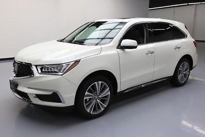 2017 Acura Mdx Base Sport Utility 4 Door 2017 Acura Mdx Technology Sunroof Nav Htd Leather 7k Mi 012491 Texas Direct Acura Mdx Acura Awd