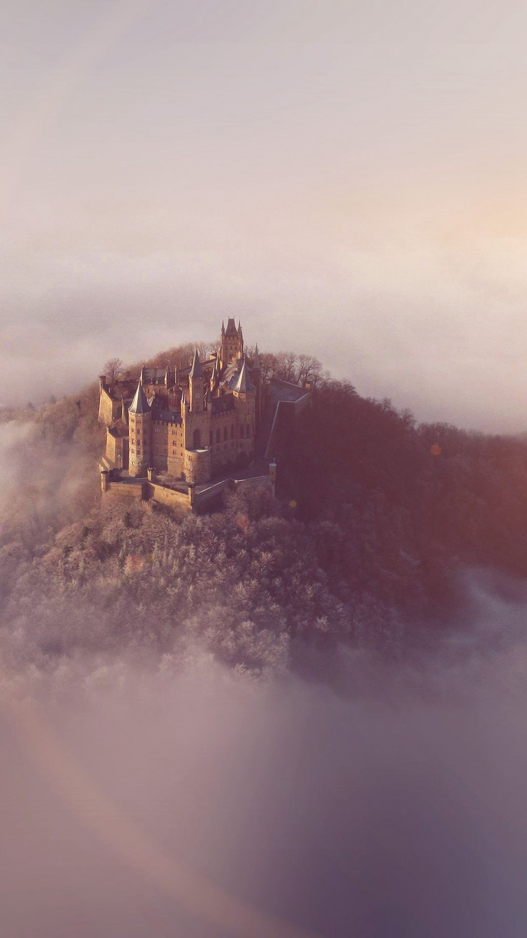 Castle Sky Cloud Dream Fantasy Art Nature Flare Iphone 6 Plus Wallpaper Harry Potter Wallpaper Backgrounds Fantasy Pictures Beast Wallpaper