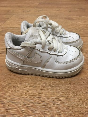 #White nike air #force 1 #infant 5.5, View more on the LINK