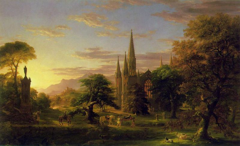 As Cores Da Arte Thomas Cole National Gallery Of Art Castle Painting List Of Paintings