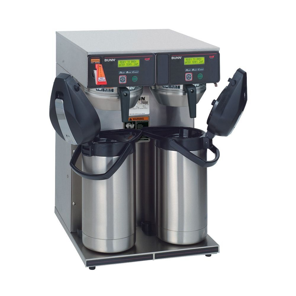 Bunn axiom twin aps airpot 15gallon coffee brewer