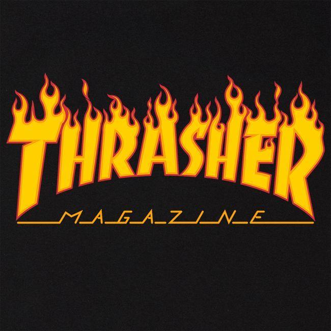 Flame Logo TShirt (Black) Logo's en Achtergronden