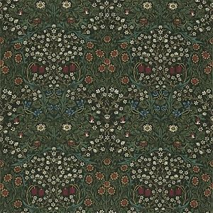William Morris & Co Blackthorn Curtains Art & Crafts 90