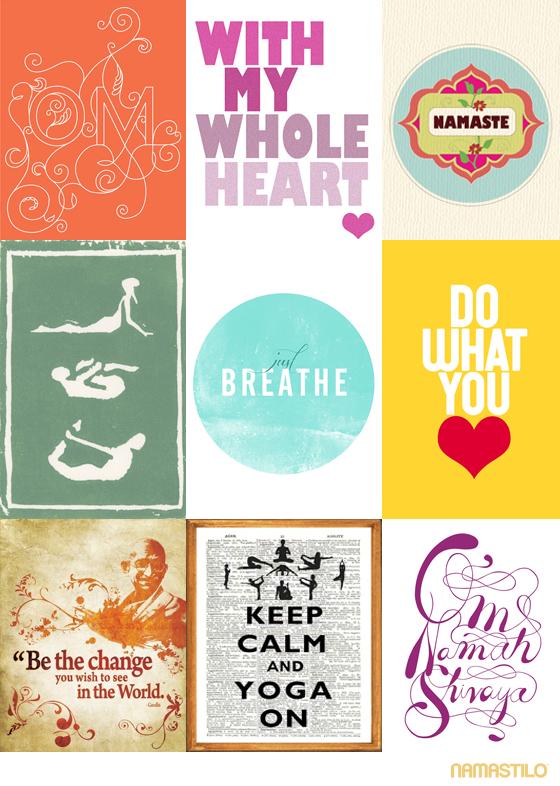 Yoga Art Quotes