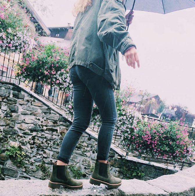 bottine chelsea timberland femme