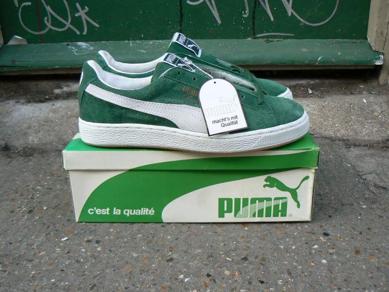 Vintage Puma Clyde Shoes 1990 Japan