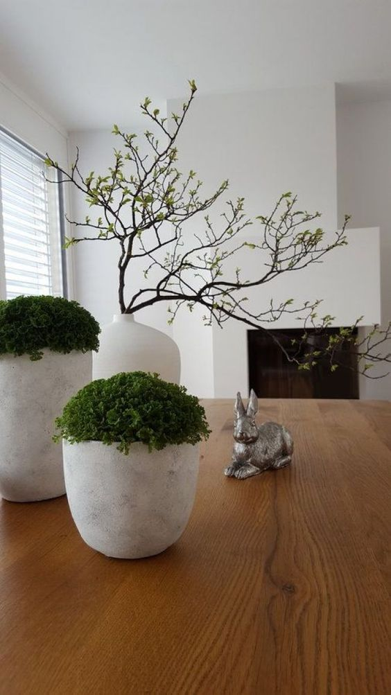 Table decoration restaurant living room shelf small ornaments home crafts ceramic plant potted decorative painting also the best design and ideas page of rh pinterest