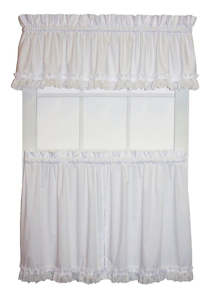 Tiers Window Curtains Toppers