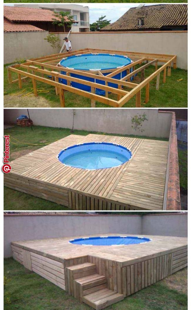 Idees Piscines Outfoor In 2019 Pinterest Diy Swimming Pool Swimming Pool Designs And Swimming Pools Gartengestaltung Ideen Pool Im Garten Landschaftsbau