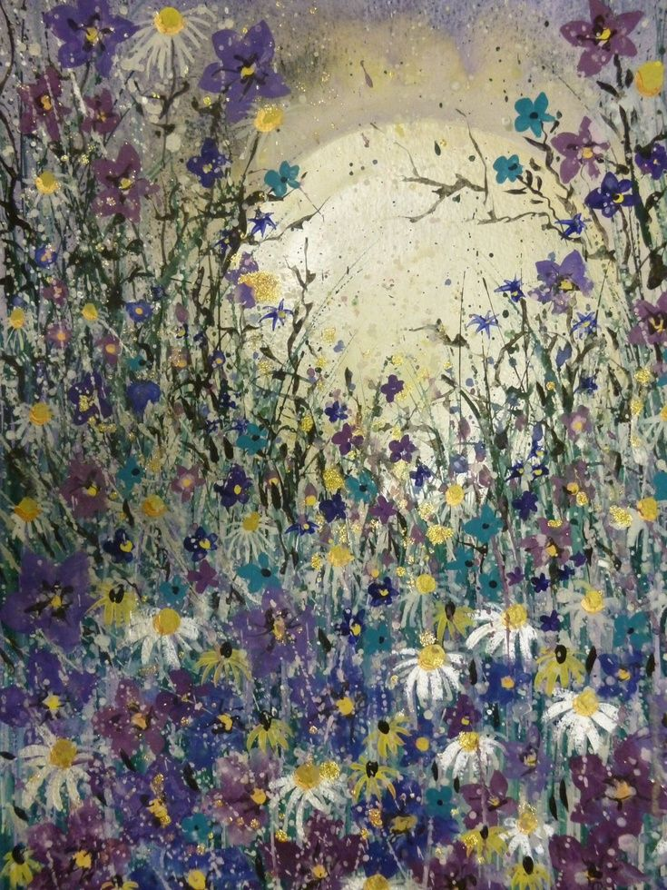 Artfinder pearl moon by jane this painting has a