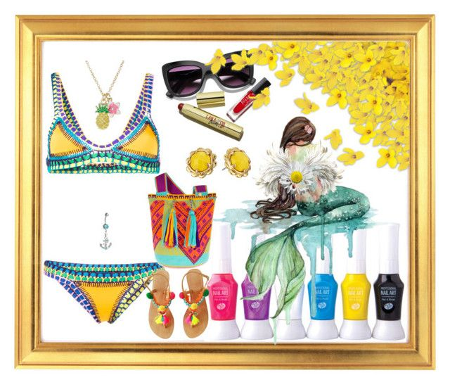 """""""Watercolor"""" by bren-johnson ❤ liked on Polyvore featuring kiini, Bling Jewelry and Kate Spade"""