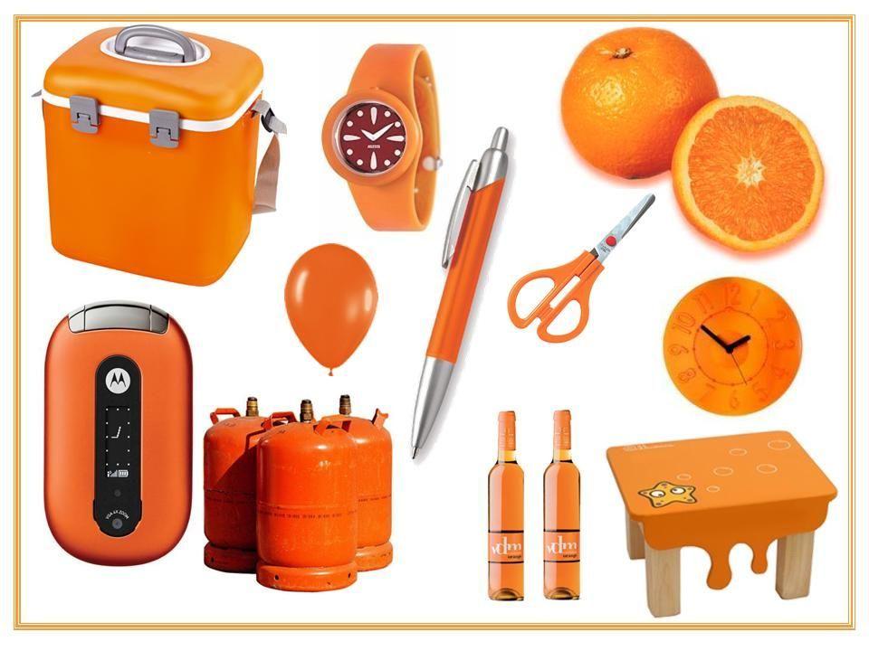 Objetos Naranjas