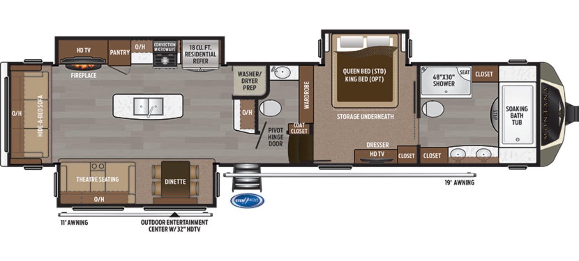 Keystone Montana 3921FB Camping World 1511071